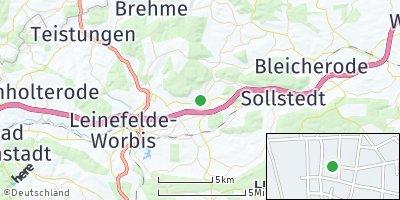 Google Map of Breitenworbis