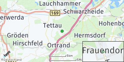 Google Map of Frauendorf