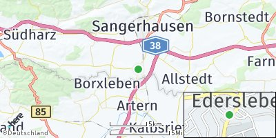 Google Map of Edersleben