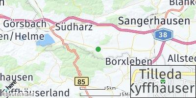 Google Map of Tilleda