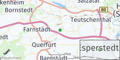 Google Map of Esperstedt bei Querfurt