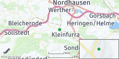 Google Map of Wolkramshausen