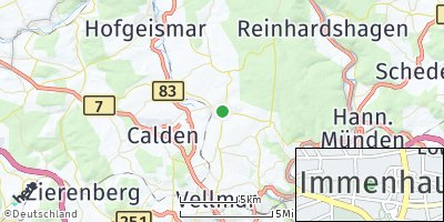 Google Map of Immenhausen