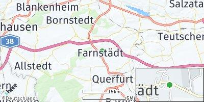 Google Map of Farnstädt