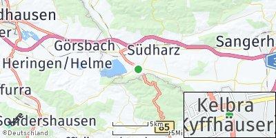 Google Map of Kelbra