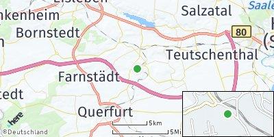 Google Map of Schraplau