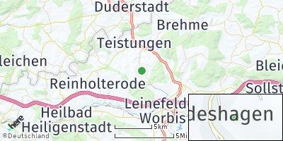 Google Map of Hundeshagen