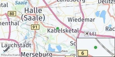 Google Map of Kabelsketal