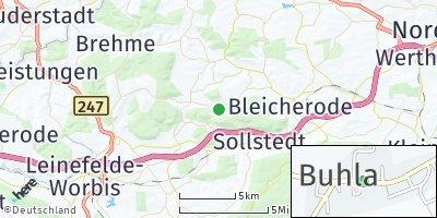 Google Map of Buhla