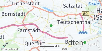 Google Map of Stedten