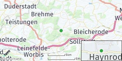 Google Map of Haynrode