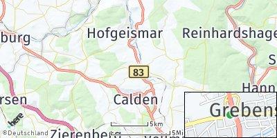 Google Map of Grebenstein