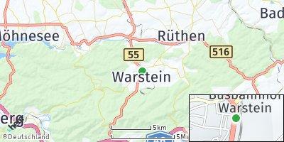 Google Map of Warstein
