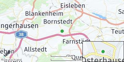Google Map of Osterhausen