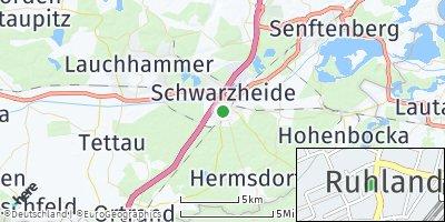 Google Map of Ruhland