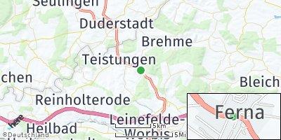 Google Map of Ferna