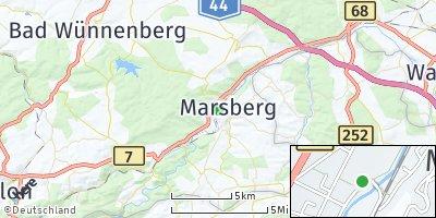 Google Map of Marsberg