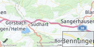 Google Map of Bennungen