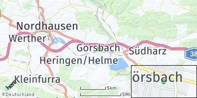 Google Map of Görsbach