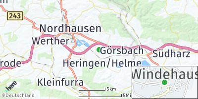 Google Map of Windehausen