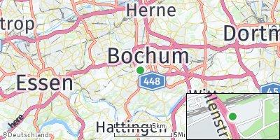 Google Map of Bochum