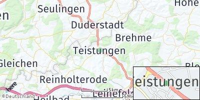Google Map of Teistungen