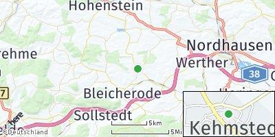 Google Map of Kehmstedt