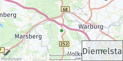 Google Map of Diemelstadt