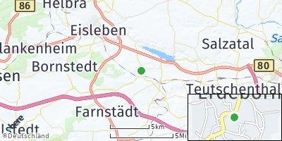 Google Map of Erdeborn