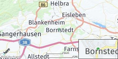 Google Map of Bornstedt