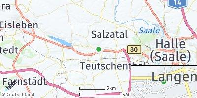 Google Map of Langenbogen