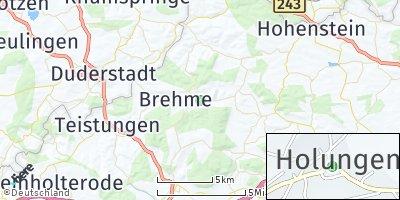 Google Map of Holungen