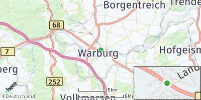 Google Map of Warburg