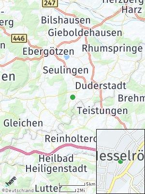 Here Map of Nesselröden
