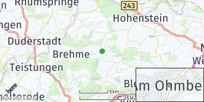 Google Map of Bischofferode
