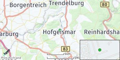 Google Map of Hofgeismar