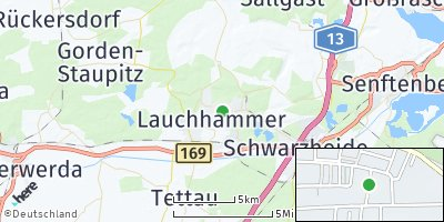 Google Map of Lauchhammer