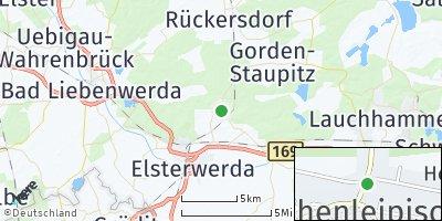 Google Map of Hohenleipisch