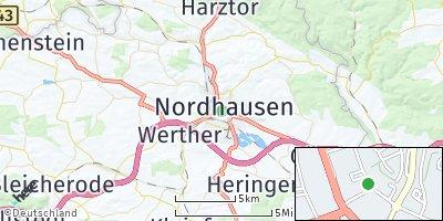 Google Map of Nordhausen