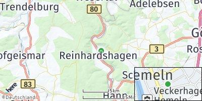 Google Map of Hemeln