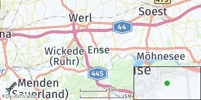Google Map of Ense