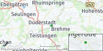 Google Map of Ecklingerode