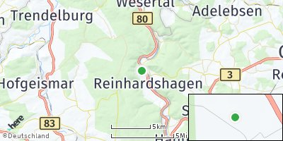 Google Map of Reinhardshagen