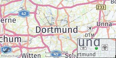 Google Map of Dortmund