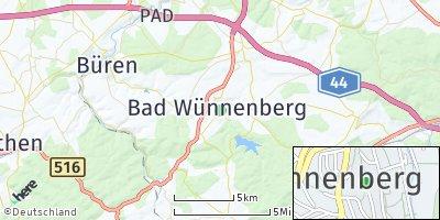 Google Map of Bad Wünnenberg