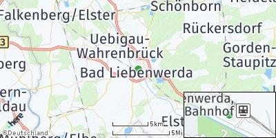 Google Map of Bad Liebenwerda