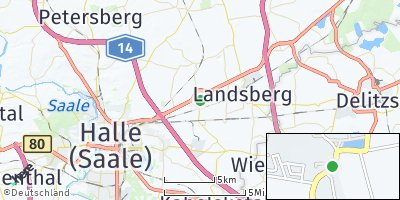 Google Map of Hohenthurm