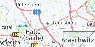 Google Map of Braschwitz