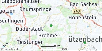 Google Map of Jützenbach