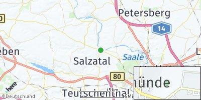 Google Map of Salzmünde